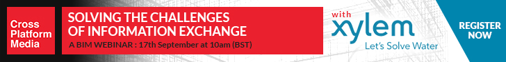 Solving the Challenges of Information Exchange - The Next Steps for BIM Webinar with Xylem, Thur 17 Sept 2020, 10am (BST) - Register for FREE Now