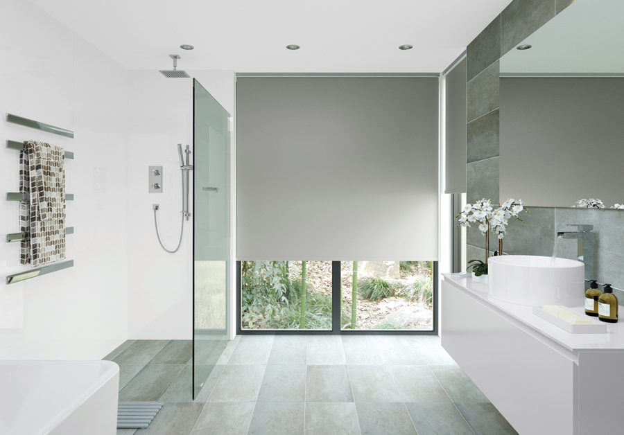 Ibuild GROHE Advises On How You Can Futureproof Your Design - Waterproof roller blind for bathroom