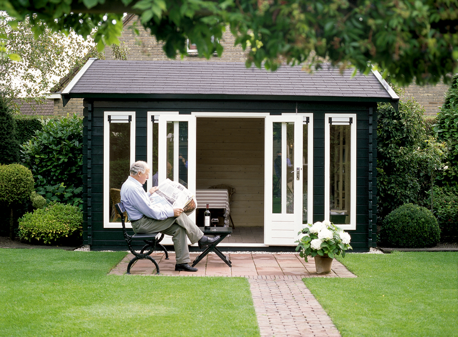 i build Building your own garden room