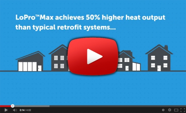 LoPro™Max - the ultimate UFH system for renovations