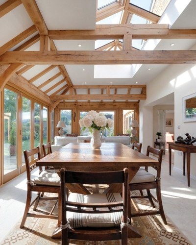 Enjoy extra living space with a stunning orangery from oak-frame specialist Arboreta