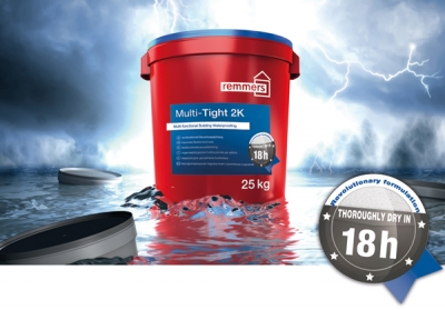 Waterproofing Simplified with Remmers Multi-Tight 2K