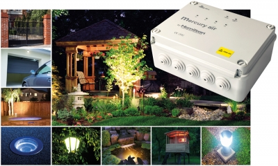 Mercury Lighting Control goes Alfresco