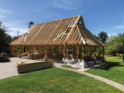 The environmental benefits of building with Green Oak