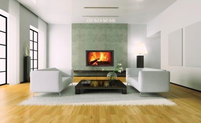 Stylish inset stoves from Eurostove create a contemporary look perfect for modern homes