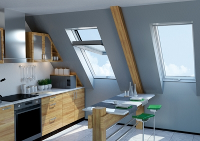 FAKRO launches PVC high pivot roof window