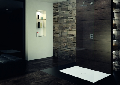 Modern shower surface for any budget