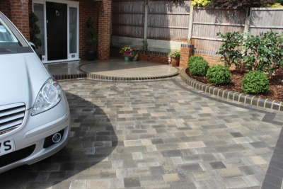 Easy-to-install pre-packed paving reduces waste
