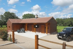 English Heritage Buildings Use Carbon Neutral Green Oak for Extensions, Garages and more